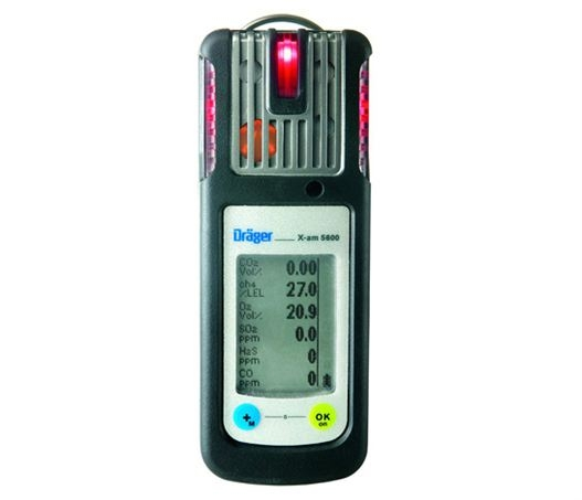 Dr 228 Ger Xam5600 6 Gas Multi Gas Monitor Cable Detection