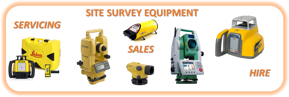 Site Survey Equipment Banner